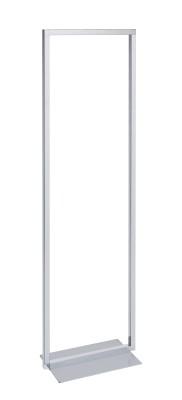 Abhängeständer verchromt Höhe 151cm x B 45cm