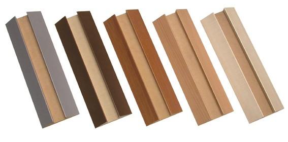 Holzabdeckung für Wandstellschiene L240cm