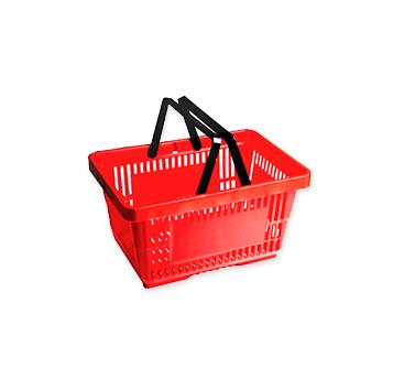 Einkaufskorb, Warenkorb, Konfektionsabnehmer, Rollhocker, Kollektionsrinnge