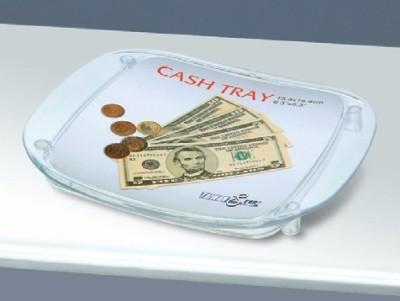 Zahlteller acryl 20x17x2cm