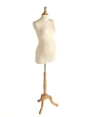 Damenbüste Schwanger mit Fuß und Halsabschluß