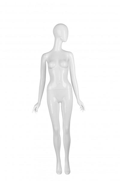 Schaufensterfigur BOUTIQUE FEMALE, weiß matt