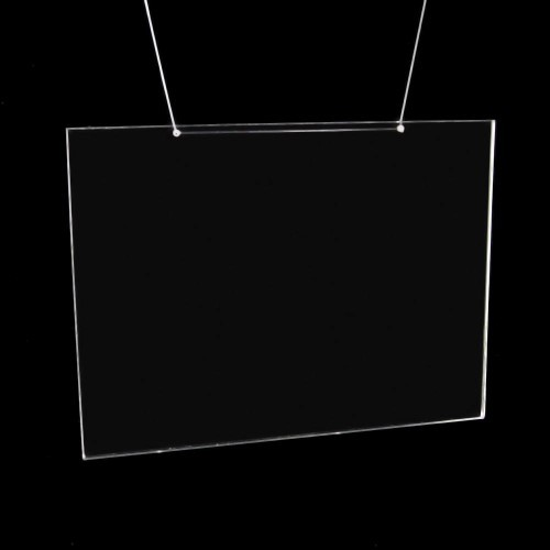 Wandprospekthalter in DIN-Größen Querformat