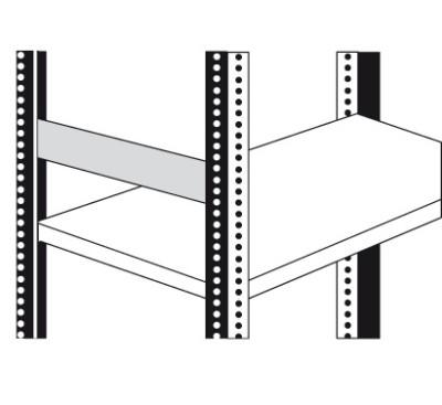 Seitensteg für Magazinregal Tiefe 30cm