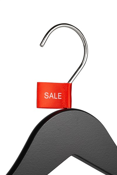 "Sale-Tag aus Satin Druck ""SALE"""