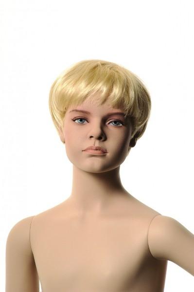 mit Make-up und Kopf für Perücke