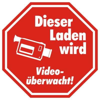 Ankleber Video Überwacht