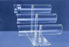 Uhrenständer acryl Breite 25cm