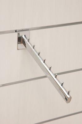 Schrägabhänger L31cm verchromt oder satiniert