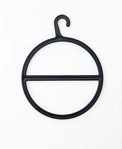 Ring für Schals und Tücher schwarz oder transparent