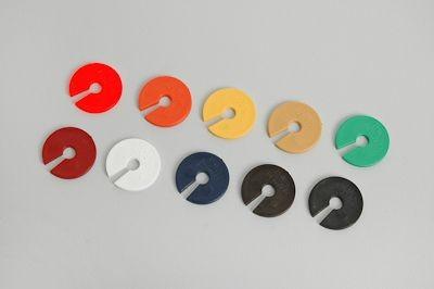 Informationsscheiben farbig 100 Stück