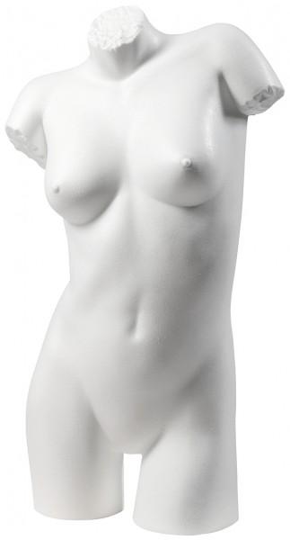 Damenbadetorso weiß