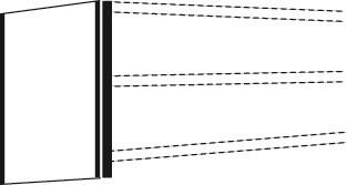 Seitenblende Tiefe 30cm