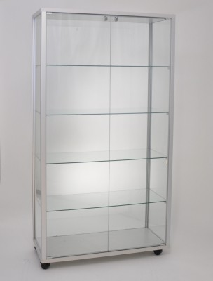 Glasvitrine 990x530x1835mm