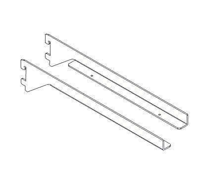Konsole für einliegende Holzfachböden 22mm