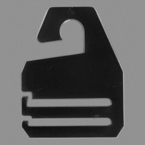 Krawattenhalter breit, 5x6,5cm