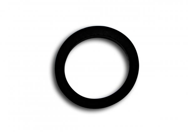 Silikonring groß transparent oder schwarz