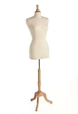 Damenbüste Langform mit Fuß und Halsabschluß