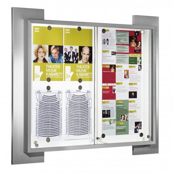 Schaukasten für Innenbereich 8 x DIN A4