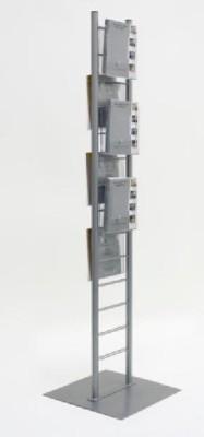Prospektständer für 6 x DIN A4