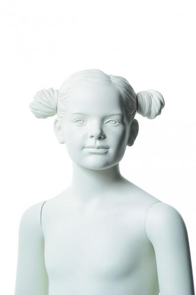 Schaufensterfigur Q-KID ALICE, 6 Jahre, weiß