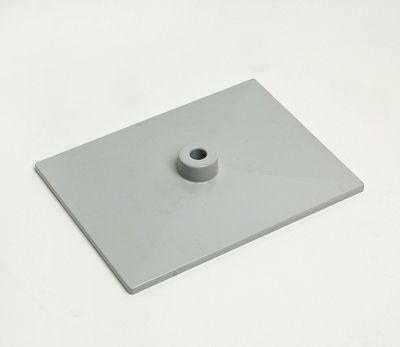 Fußplatte 15x20cm kunststoff