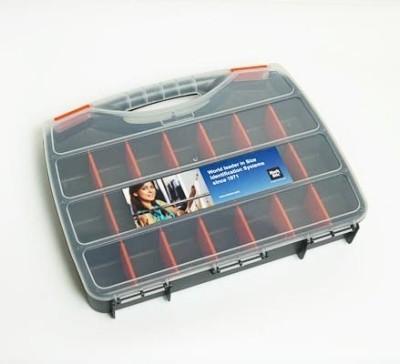 Sortiert Box aus Kunsttoff mit Unterteilungen