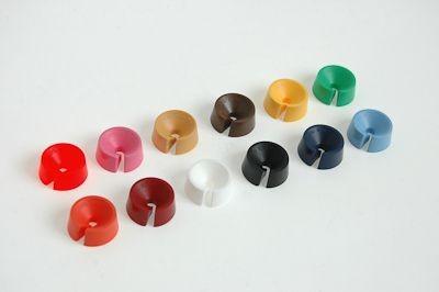 Farbenreiter für Kleiderbügel 100 Stück