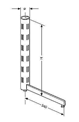 Rondo Regalsteher 60mm