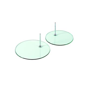 Glasplatten, Standplatten für Dekofiguren