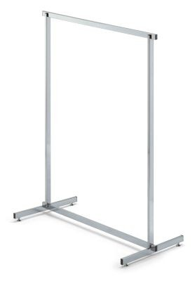 Gerader Ständer verchromt L=115cm
