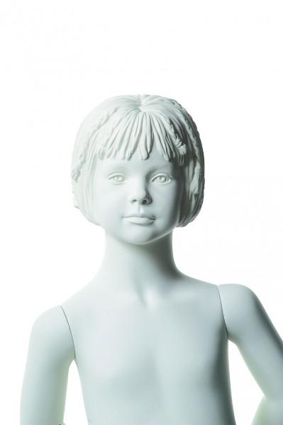 Schaufensterfigur Q-KID Cara, 4 Jahre, weiß