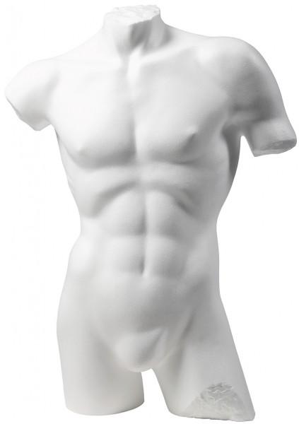 Herrenbadetorso weiß