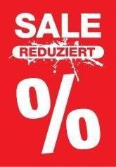 "Rahmenplakat ""Sale-Reduziert"" DIN A1"