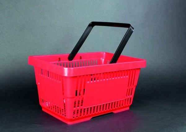 Einkaufskorb aus Kunststoff