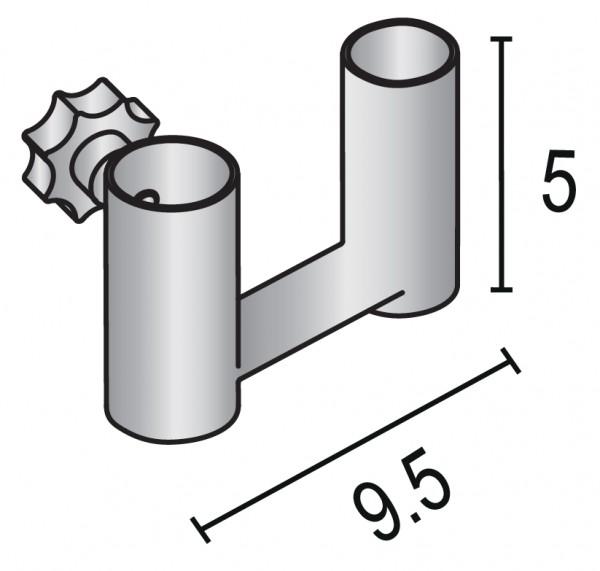Adapter für Schneiderbüste