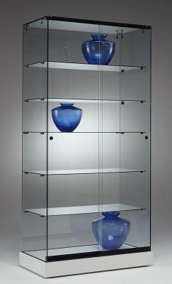 Ganzglasvitrine 900x460x1820mm