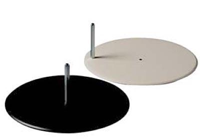 Standplatte metall D40cm für Poly Star und Slim Line