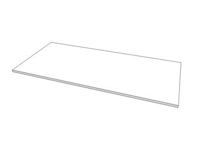 Holzfachboden mit runden Kanten für Gondelstrucktur