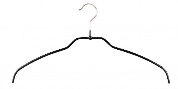 Mawa-Kleiderbügel 42/FT schwarz oder silber (VE 100 Stück)