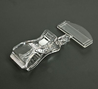 Preisschild-Clip glasklar 5cm