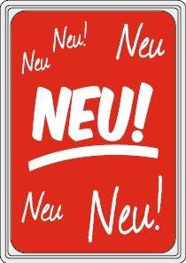 "Rahmenschild ""NEU"""