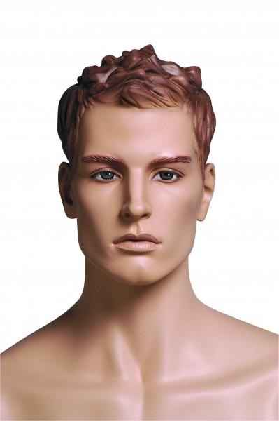 Sportfigur KEVIN, hautfarben mit skulpturiertem Haar